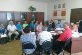 Рабочая встреча представителей власти и общественности