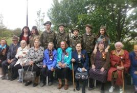 Митинг и автопробег, посвященный Дню Великой Победы прошел в селе Вольное Успенского района