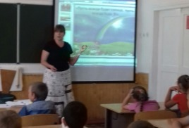 День Защииты детей библиотека с.Вольное