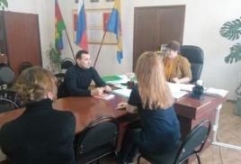 В администрации Вольненского сельского поселения состоялся прием граждан по личным вопросам.